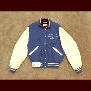 🤩 VINTAGE 80s Men's Leather Jacket
